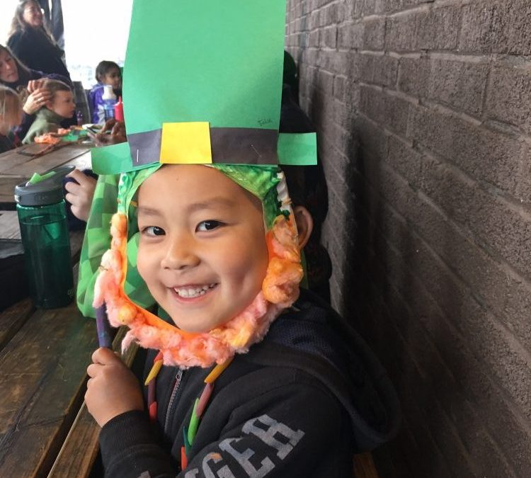St Patrick's Day March and Feast